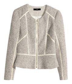 H&M | Short jacket in beige | 58% cotton, 42% polyester. Machine wash | £29.99