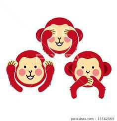 猴子 美容 动物 13582569