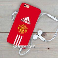 Manchester United Adidas iPhone Case 4 4s 5 5s 5c 6 6s Plus Hardcase