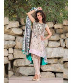 Signature Icon Embroidered Lawn Collection 2016 ZS_5A