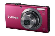 JUAL Canon PowerShot A2300 16.0 MP Kamera Digital dengan 5x Digital Image Stabilized Zoom 28mm Wide-Angle Lensa dengan 720p HD Video Recording (Merah) MURAH | IndentStore.Com | Spesifikasi dan Harga