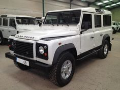 Tweedehands Land Rover Defender 110 td4 Station Wagon S