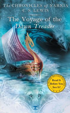 The Voyage of the Dawn Treader - C.S. Lewis. Have yet to read this one... But I will pretty soon once I finish Caspian