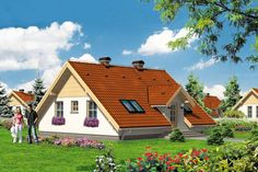 DOM AT6-91 - pomysłowy dom o niespotykanej codziennie architekturze.