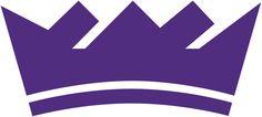 Sacramento Kings Alternate Logo (2017) - A purple crown
