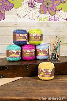 Our Artiste crochet thread comes in a wide range of colors and is great for the finest crochet or knitting projects. Do you have your next project planned? We'd love to hear about it!