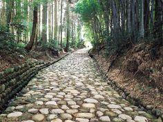 ハローナビしずおか静岡県観光情報/旧東海道石畳(金谷坂)