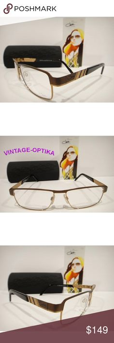 63ea71db9585 CAZAL 7033 EYEGLASSES BRONZE BROWN AUTHENTIC NEW These are 100% Genuine