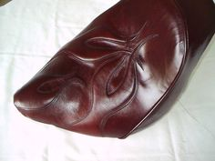 Black cherry leather Bike Seat, Cherry, Leather, Black, Black People, Prunus