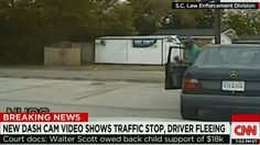 Dash cam video shows the moments before South Carolina police shooting