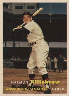 1957 Topps Harmon Killebrew card that never was.