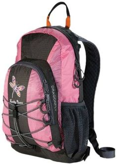 awesome Lucky Bums Dragonfly 15 Backpack (Pink)