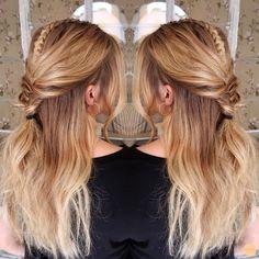 Bohemian hairdo