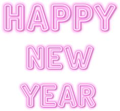 Happy New Year Download, Neon Png, Happy New Year Pictures, Happy D, Twitter Card, Flower Alphabet, Good Morning Gif, Chinese Symbols, Clip Art