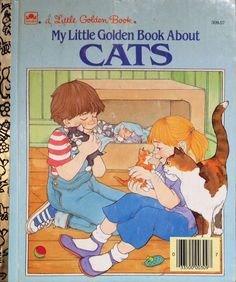 My Little Golden Book About Cats by Lonestarblondie on Etsy