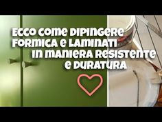 Come dipingere ed eseguire il restyling di un mobile in formica o laminato - YouTube Wabi Sabi, Chalk Paint, Diy Furniture, Sweet Home, Interior Design, Hobby, Home Decor, Vintage, House 2