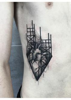 heart tattoo on Behance