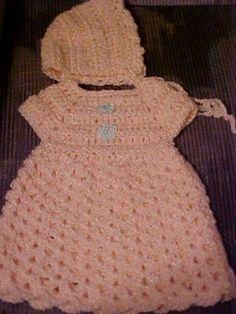 Angel Shell Dress free crochet pattern