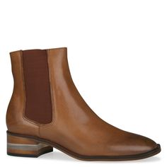 Shoe Connection - Django & Juliette - Felicity cognac leather ankle boot. $249.99 https://www.shoeconnection.co.nz/womens/boots/ankle-boots/django-juliette-felicity-leather-ankle-boot?c=Cognac