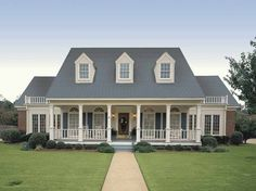Farmhouse House Plan with 3035 Square Feet and 4 Bedrooms from Dream Home Source | House Plan Code DHSW18801