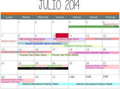 FERIAS Y EVENTOS JULIO 2014