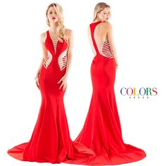 Sizzling HOT!!!! COLORS DRESS #gown #fashion #ootd #glam #redcarpet