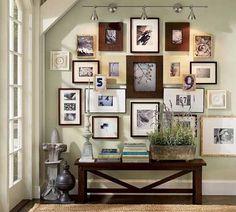 Excelentes ideas para un muro de cuadros - Casa Haus