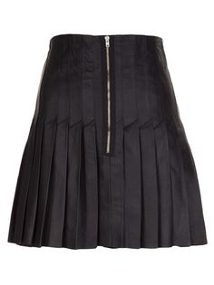 BOY. BY BAND OF OUTSIDERS leather skirt