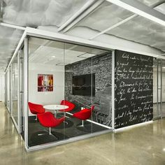 The written walls inspire creativity www.CorporateCare.com