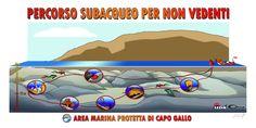 AMP Capo Gallo e Isola delle Femmine (PALERMO) - Percorso Subacqueo per non Vedenti