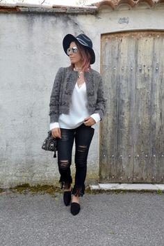 Boho jacket : la petite perle by ZARA - Loladelavega Blog