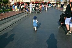 Walkin' right down the middle of Main Street, USA