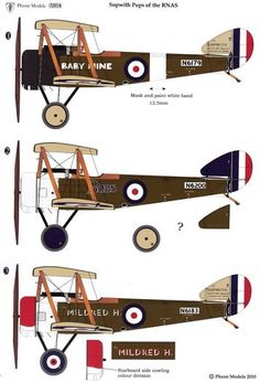 Sopwith Dolphin Decals Review by James Fahey (Pheon Models 1/48)