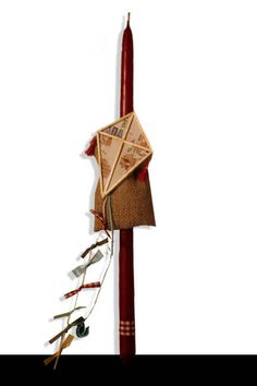 Handmade Easter Candle lambada World kite by metixera on Etsy