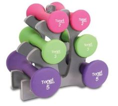 Tone Fitness Hourglass Shaped Dumbbell Set Dumbbells are an essential addition to any strength training routine. The durable, neoprene material is great for indoor and outdoor workouts. Strength Training Equipment, Strength Training Workouts, Toning Workouts, No Equipment Workout, Fun Workouts, At Home Workouts, Fitness Equipment, Weight Training, Outdoor Workouts
