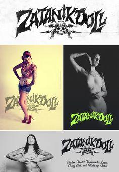 ZatanikDoll new logo. Custom Model. More info > www.burnclan.com