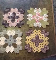 Under Quilted Covers: More Patchwork of the Crosses