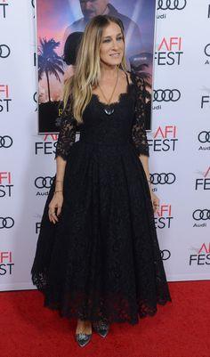 Sarah Jessica Parker nos enamora con su romántico look en Los Ángeles
