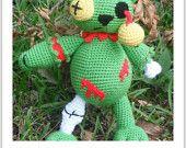 Zombie Bear A Crochet Pattern by Erin Scull