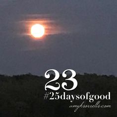 Find the good.   Snap a picture. Post. #25daysofgood