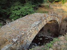 Νομός Ιωαννίνων - Γεφύρι στον Άγιο - Νεγάδες - ποταμός Μπαγιώτικος Old Bridges, Different Perspectives, Empire Style, Garden Bridge, Greece, Gap, Environment, Outdoor Structures, Stone