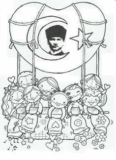 November 10 Event Pattern - New Site Ramadan Activities, Preschool Activities, Art Lessons For Kids, Art For Kids, Coloring For Kids, Coloring Pages, Kids Workshop, Printable Crafts, Child Day