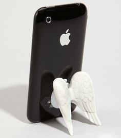 On Angel's Wings iPhone Holder. I totally love this!!!!