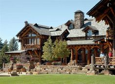 The ultimate log home get away spot