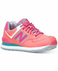 New Balance Women's 574 Island Casual Sneakers from Finish Line - Kids Finish Line Athletic Shoes - Macy's