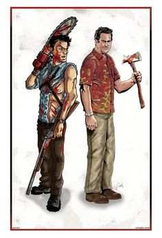 Ash Williams v Sam Axe ?!