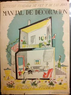 Manual de Decoración. Vicente Viudes. Sección Femenina de FET y de las JONS. - Foto 1