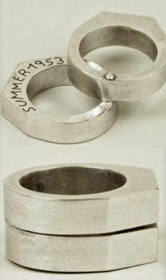 Maison Martin Margiela 11 Men's Casting Double Brass Ring