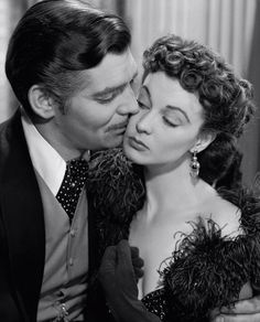Gone with the Wind - Vivian Leigh and Clark Gable
