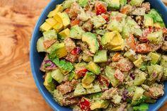 Recipe: Summer Veggie Salad with Dairy-Free Pesto